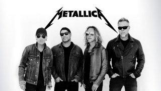 Metallica: (left to right) Lars Ulrich, Robert Trujillo, Kirk Hammett, and James Hetfield