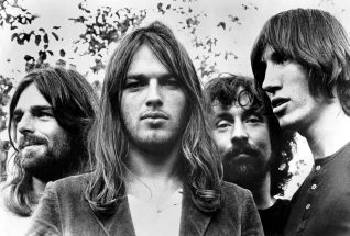 Pink Floyd: (Left to right) Richard Wright, David Gilmour, Nick Mason, Roger Waters